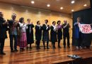 """Obradoiro de teatro """"O Penúltimo tren"""" no salón de actos da Escola Oficial de Idiomas"""