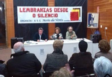 Presentación do libro «Lembranzas desde o silencio» por Enrique Barrera
