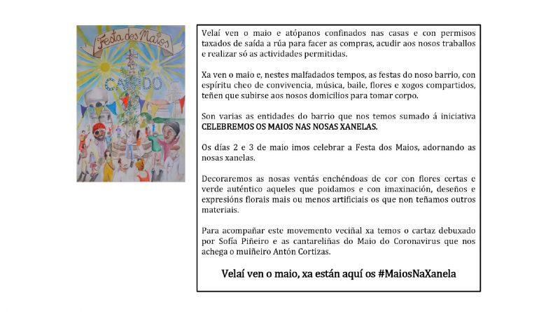 #MaiosNaXanela
