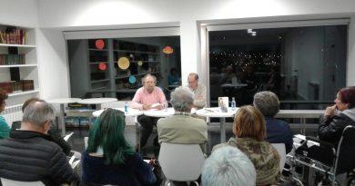 """Presentación do libro de Manuel Monge """"Guía para non perderse en política"""""""