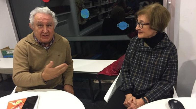 Charla sobre Ángeles Alvariño González  por María José Leira
